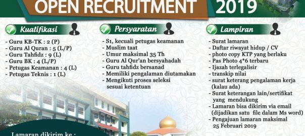 Lowongan kerja sekolah islam
