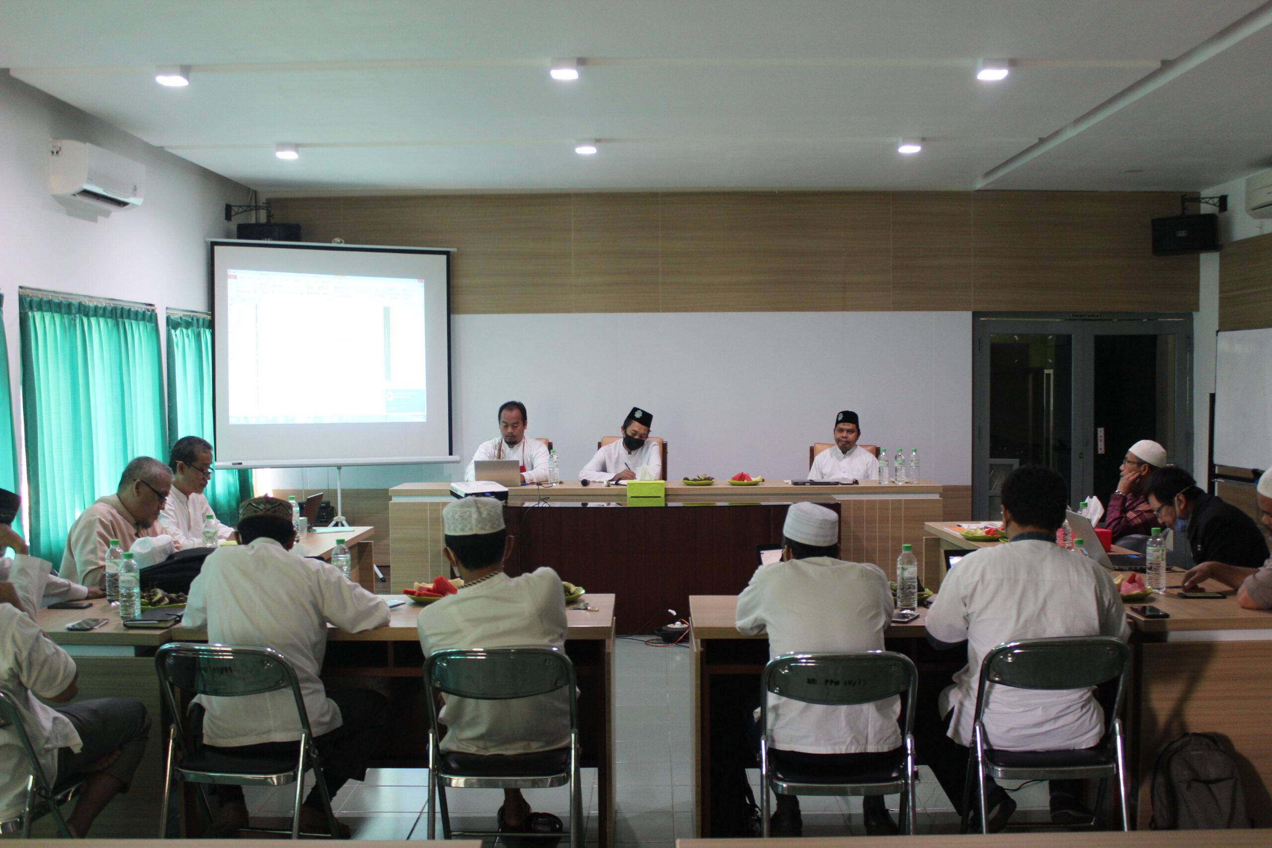 Presentasi Program Kerja Unit Pondok Pesantren Hidayatullah Surabaya