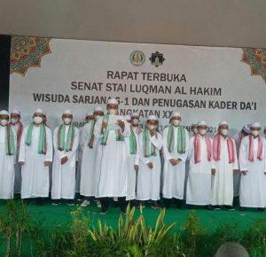 Wisuda STAI Luqman al Hakim 2021